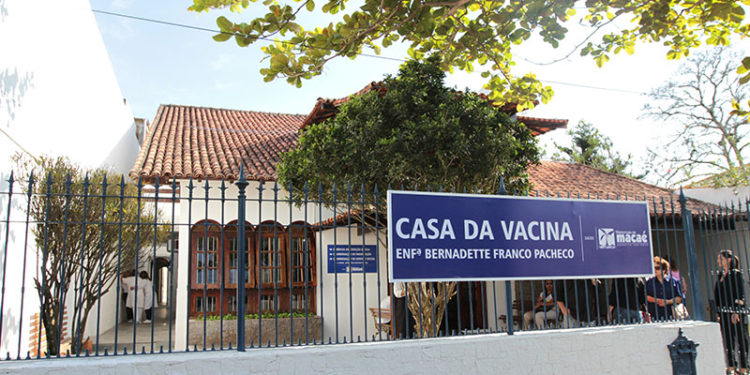 Instalações da Casa de Vacina Enfermeira Bernadette Franco Pacheco.Macaé (RJ). Data: 19/09/2014. Fotógrafo: Maurício Porão/Prefeitura de Macaé (RJ)