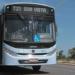 Ônibus circulando pela faixa azul da Aveninda Norte Sul. Macaé(RJ). Data: 02/01/2014. Fotógrafo: Maurício Porão/Prefeitura de Macaé