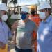 Prefeito de Macaé, Welberth Rezende, visita primeira sonda que chega em Macaé para trabalhar na análise do solo marinho para instlação do Tepor. Macaé/RJ. Data: 15/06/2021. Foto: Rui Porto Filho